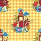 London time tea Repeat Pattern