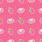 Süßigkeiten Baby Nahtloses Vektormuster