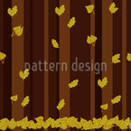 Autumn Forest Seamless Vector Pattern Design
