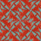 Windmühlen Ikat Muster Design