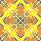 Polygonal Visions Seamless Pattern