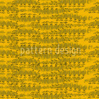 Reptilio Yellow Seamless Vector Pattern Design