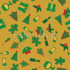 Christmastime is coming Repeat Pattern