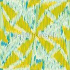 Ikat Kreuzformen Musterdesign