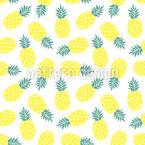 Ananas-Sommer Designmuster