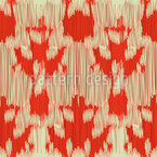 Ikat-Formen Nahtloses Muster