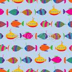 Fische auf Tauchstation Rapport