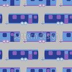 Wohnwagen Reisen Nahtloses Vektor Muster