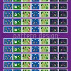 Lama Briefmarken Vektor Design
