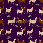 Lamas Groupe Repeat Pattern