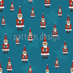 Santa Claus is coming Pattern Design