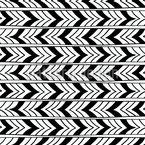 Listras de seta Ethno Design de padrão vetorial sem costura