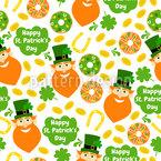 Donuts zum St Patricks Tag Rapport