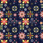 Floral christmas Design Pattern