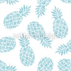 Grafische Ananas Rapportmuster