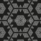 Winter Is Greeting Vector Pattern