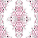 Boho Vintage Design de padrão vetorial sem costura