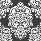 Noble Damask Vector Ornament