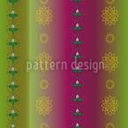 Blumen Und Blätter Musterdesign