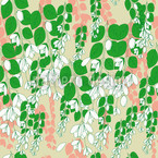 Bouganvillea Beige Design Pattern