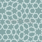 Moroccan Stars Vector Pattern