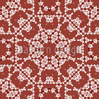 Ornate shapes Seamless Vector Pattern Design