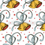 Bells Are Ringing Seamless Vector Pattern