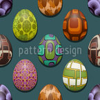 Retro Egg Vector Design