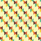 Dreieck Linien Kombi Rapportiertes Design