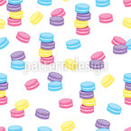 Macaroon Party Pattern Design