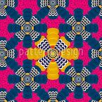 近代アフリカ シームレスなベクトルパターン設計