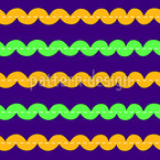 Straight ribbons Seamless Vector Pattern Design