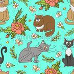 Katzen im Frühling Rapport