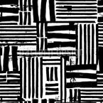 Aquarell Linien Muster Design