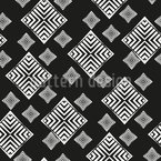 Flying Rhombus Seamless Vector Pattern