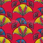 Abstract African Kites Vector Design