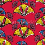 Abstrakte afrikanische Drachen Vektor Design