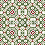 Mosaikartige Formen Designmuster