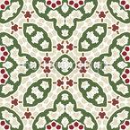 Schwäche für Mosaiken Nahtloses Vektor Muster
