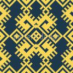 Tecelagem em Filigrana Design de padrão vetorial sem costura