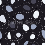 Stones And Lines Seamless Vector Pattern Design