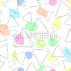 Triangular abstraction Seamless Vector Pattern Design
