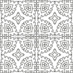 To go round a form Seamless Pattern
