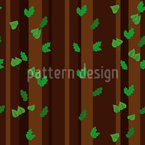 Summer forest Seamless Vector Pattern Design