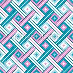Stilisiertes Makro Gewebe Muster Design