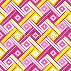 Stilisierte Gewebe Ansicht Musterdesign