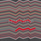 Zig Zag Race Seamless Vector Pattern Design