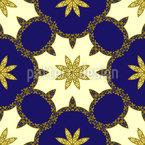 高貴な装飾 シームレスなベクトルパターン設計