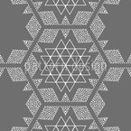 Stars and triangles Pattern Design
