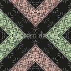 Stony Rhombuses Repeat Pattern